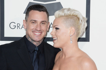 Carey Hart Arrivals at the Grammy Awards — Part 3