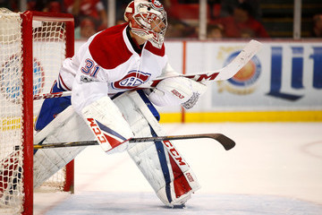 Carey Price Montreal Canadiens v Detroit Red Wings