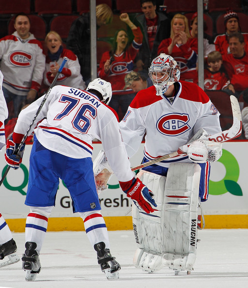 8dd6b19957f Carey Price and P.K. Subban Photos Photos - Montreal Canadiens v New ...