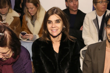 Carine Roitfeld Ralph Lauren - Front Row - February 2018 - New York Fashion Week