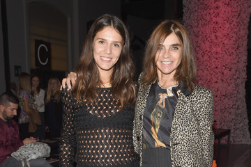 Carine Roitfeld Front Row at Missoni