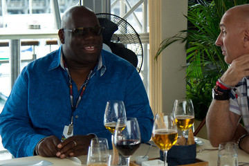 Carl Cox Celebrities Visit the Red Bull Energy Station