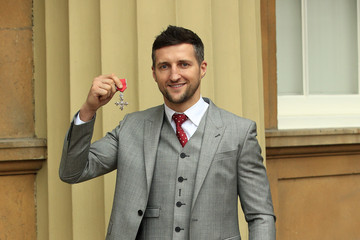 Carl Froch Investitures at Buckingham Palace