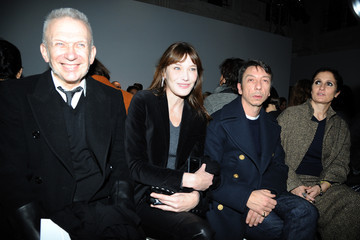 Carla Bruni-Sarkozy Front Row at the Schiaparelli Show