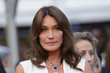 Carla Bruni-Sarkozy 'Sink Or Swim (Le Grand Bain)' Red Carpet Arrivals - The 71st Annual Cannes Film Festival