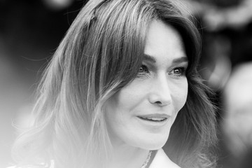 Carla Bruni-Sarkozy Alternative View In Black & White - The 71st Annual Cannes Film Festival