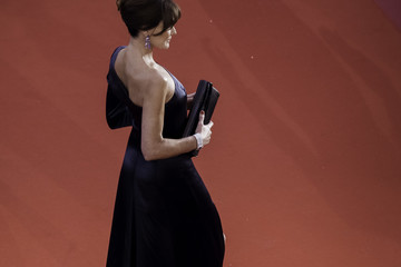 Carla Bruni-Sarkozy 'Les Miserables' Red Carpet - The 72nd Annual Cannes Film Festival