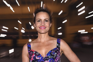 Carla Gugino Marc Jacobs Spring 2017 Runway Show - Front Row