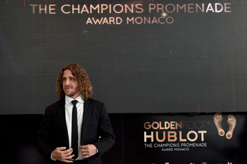 Carles Puyol Golden Foot Award - Day Two
