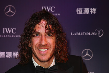 Carles Puyol Red Carpet Studio - 2015 Laureus World Sports Awards - Shanghai
