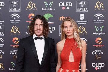 Carles Puyol Vanessa Lorenzo Goya Cinema Awards 2020 - Red Carpet