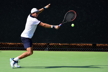Carlos Berlocq Winston-Salem Open - Day 4