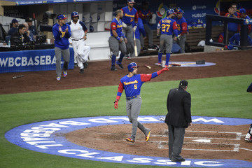 Carlos Gonzalez World Baseball Classic - Pool F - Game 2 - Venezuela v United States