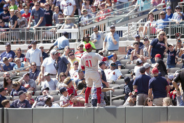 Carlos Santana Philadelphia Phillies vs. Atlanta Braves