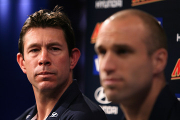Chris Judd Brett Ratten Carlton Blues Media Session