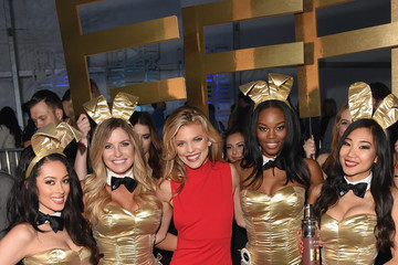 Carly Lauren The Playboy Party during Super Bowl Weekend - Inside