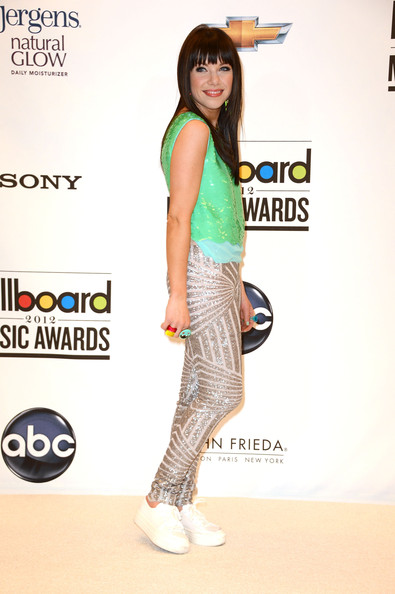 Carly Rae Jepsen - 2012 Billboard Music Awards - Press Room