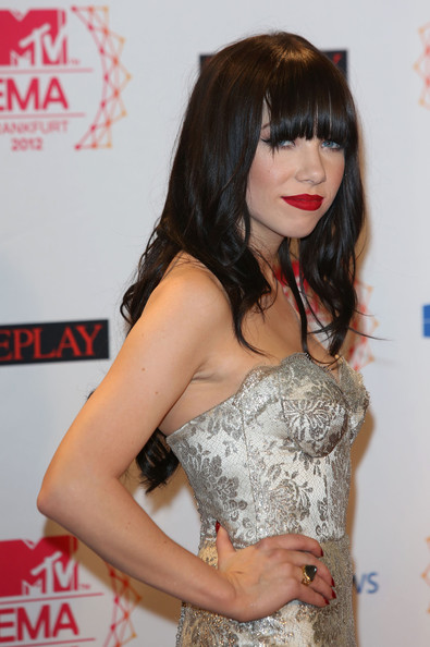 Carly Rae Jepsen - MTV EMA's 2012 - Photo Room