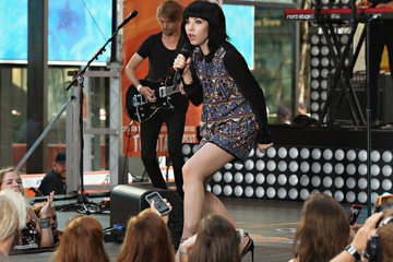 Carly Rae Jepsen Carly Rae Jepsen Performs on NBC's 'Today'