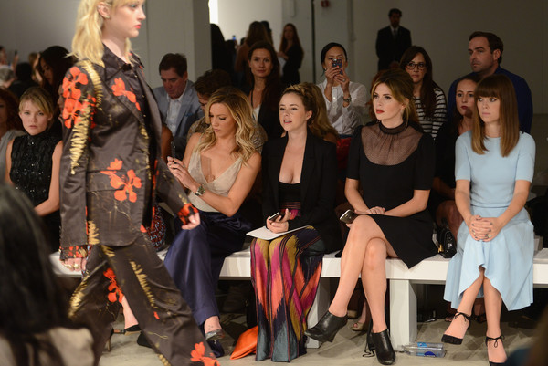 Jenny Packham - Front Row - Spring 2016 New York Fashion Week: The Shows