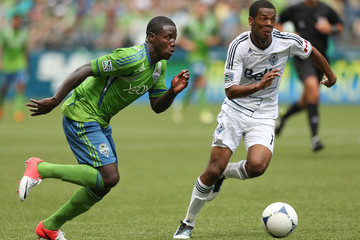 Carlyle Mitchell Vancouver Whitecaps v Seattle Sounders