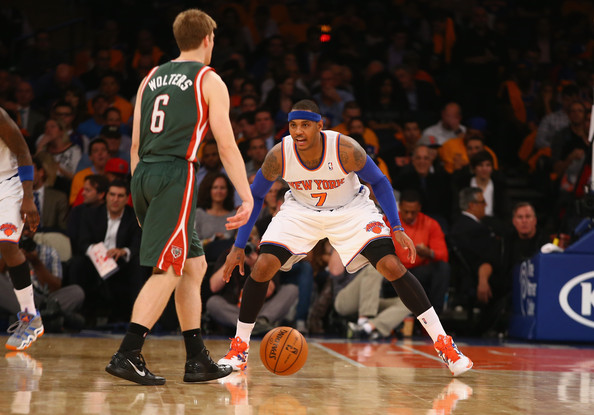 Carmelo Anthony and Nate Wolters Photos Photos - Zimbio