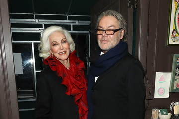 Carmen Dell'Orefice Michael Kors Celebrates David Downton Collaboration With Dinner in New York City