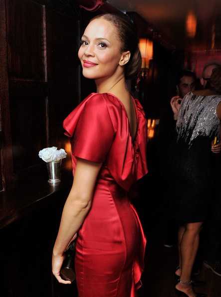 "Carmen Ejogo - The Cinema Society & Grey Goose Host A Screening Of ""Alex Cross"" - After Party"