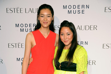 Carol Lim Arrivals at the Estee Lauder Fragrance Party