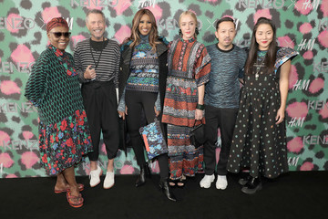 Carol Lim KENZO x H&M Launch Event Directed by Jean-Paul Goude' - Arrivals