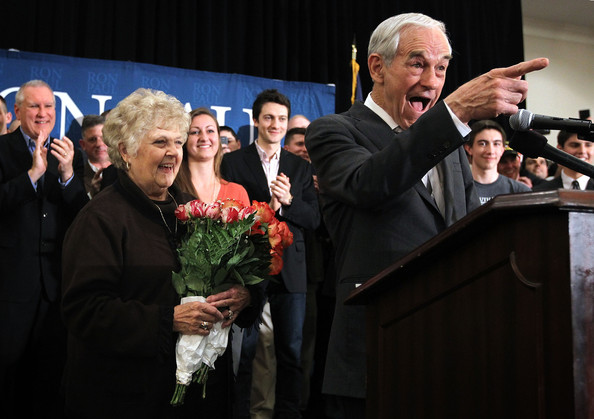 Ron Paul Holds Event In Virgina On Night Of Michigan And Arizona Primaries