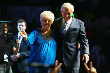 Carol Paul Ron Paul Holds Rally On Eve Of The Republican National Convention
