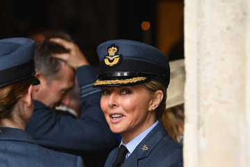 Carol Vorderman Members Of The Royal Family Attend Events To Mark The Centenary Of The RAF