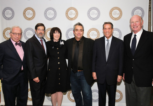 Harold and Mimi Steinberg Charitable Trust  [mimi steinberg charitable trust,board of directors,l-r,event,suit,team,management,businessperson,harold,james d. steinberg,playwright,michael a. steinberg,stephen adly guirgis,carole a. krumland,william d. zabel]