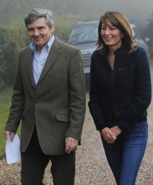 Carole Middleton Photos Photos Clarence House Announce