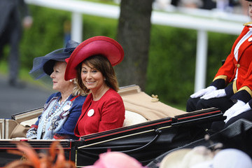 Carole Middleton Royal Ascot - Day Three