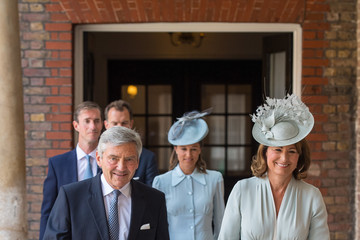 Carole Middleton Christening Of Prince Louis Of Cambridge At St James's Palace