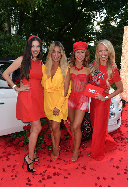 Red Summer Night By Bunte.de In Munich [red,event,lady,dress,fun,bachelorette party,prom,car,leisure,party,bunte.de in munich,jeanette graf,carolin henseler,shrin tabatabai,rocco forte,munich,germany,the charles hotel,tiger kirchharz,red summer night]