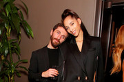 David Koma and Yasmin Wijnaldum attend Caroline Rush, Julia Restoin Roitfeld and Bloomingdales Celebrate David Koma's 10th Anniversary at The Peninsula Hotel on October 30, 2019 in New York City.