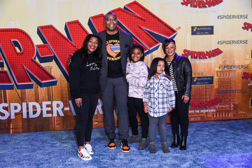 Caron Butler World Premiere Of Sony Pictures Animation And Marvel's 'Spider-Man: Into The Spider-Verse' - Red Carpet
