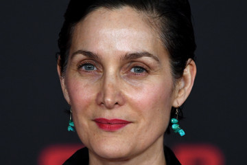 Carrie-Anne Moss Premiere of Disney Pictures and Lucasfilm's 'Star Wars: The Last Jedi' - Arrivals