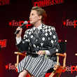 Carrie Coon Ghostbusters: Afterlife Cast & Filmmakers Panel At New York Comic Con
