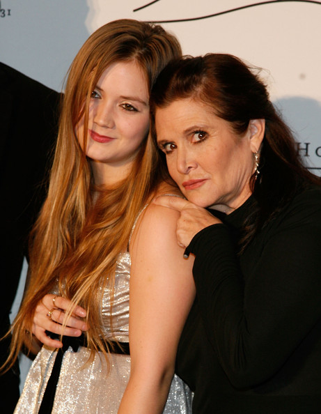 2011 Silver Hill Hospital Gala [beauty,human hair color,lady,girl,hairstyle,blond,fashion,long hair,brown hair,fun,carrie fisher,billie lourd,silver hill hospital,new york city,cipriani 42nd street,l,silver hill hospital gala,gala]
