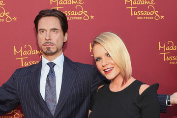 Carrie Keagan Marvel Wax Figures Unveiled in Hollywood