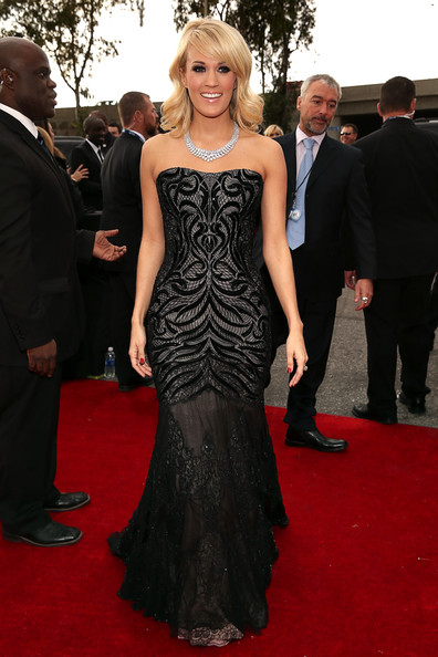 Carrie Underwood - The 55th Annual GRAMMY Awards - Red Carpet