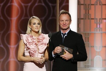 Carrie Underwood 74th Annual Golden Globe Awards - Show