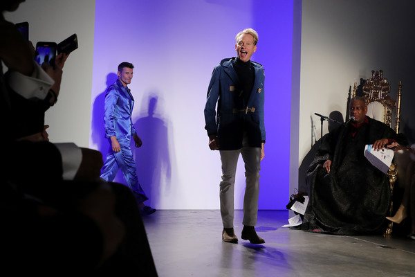 The Blue Jacket Fashion Show At NYFW