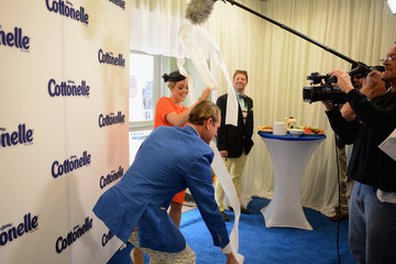 "Carson Kressley Cottonelle Celebrity ""Clean Room"" At The 140th Kentucky Derby"