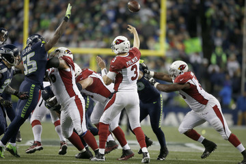 Carson Palmer Arizona Cardinals v Seattle Seahawks