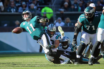 Carson Wentz Carolina Panthers vs. Philadelphia Eagles
